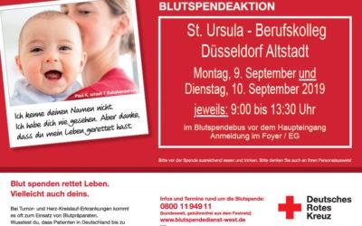 Blut spenden – Leben retten!