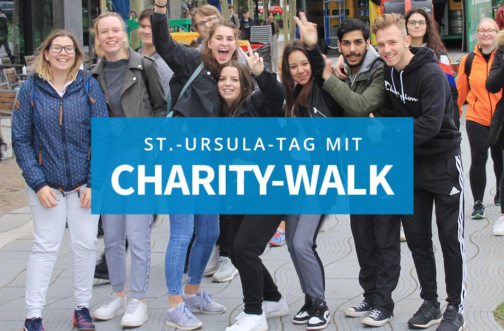 St.-Ursula-Tag mit Charity-Walk