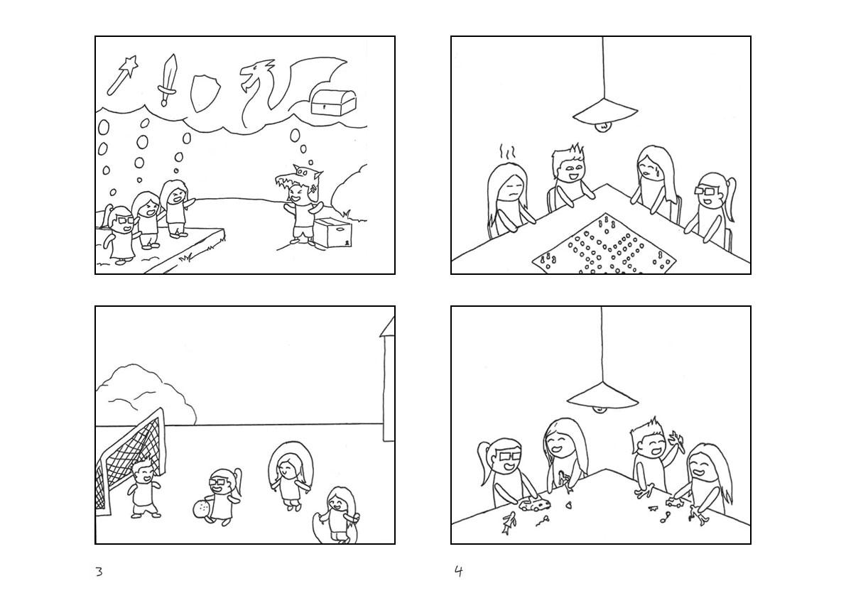 Comic Seite 3 und 4