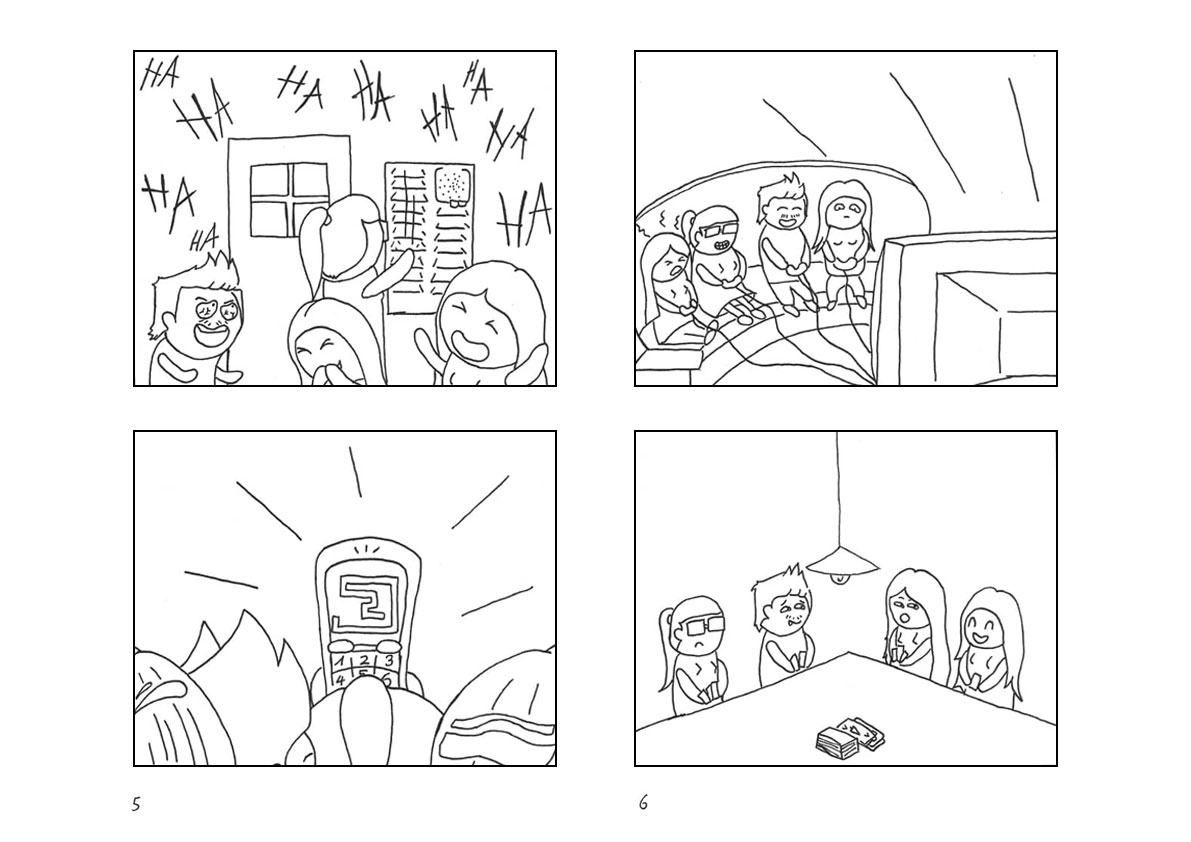 Comic Seite 5 und 6