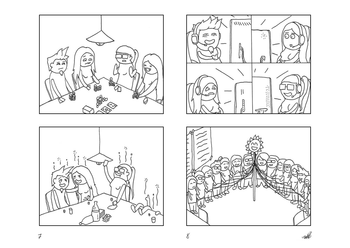Comic Seite 7 und 8