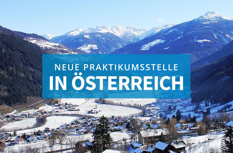 Neue Praktikumsstelle in Österreich