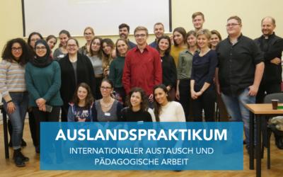 Auslandspraktikum in Krakau (PL) – Berufspraxis und pädagogische Fachgespräche