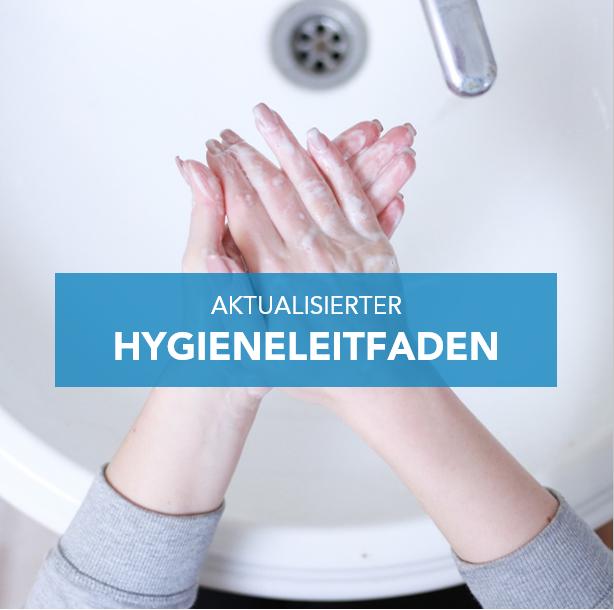 Aktualisierter Hygieneleitfaden für die Zeit nach den Sommerferien
