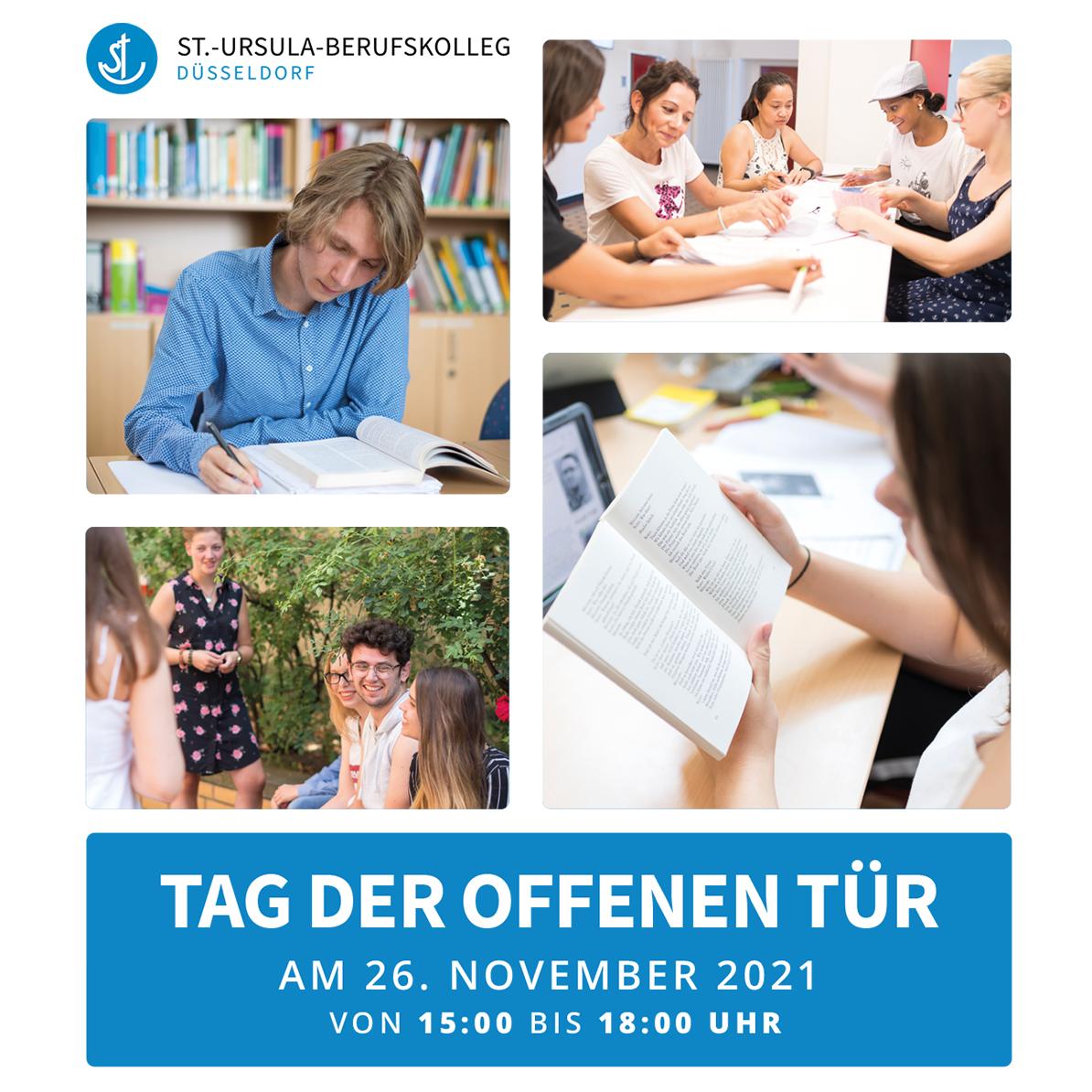 Tag der offenen Tür am St.-Ursula-Berufskolleg: Digitale Anmeldung ab sofort möglich