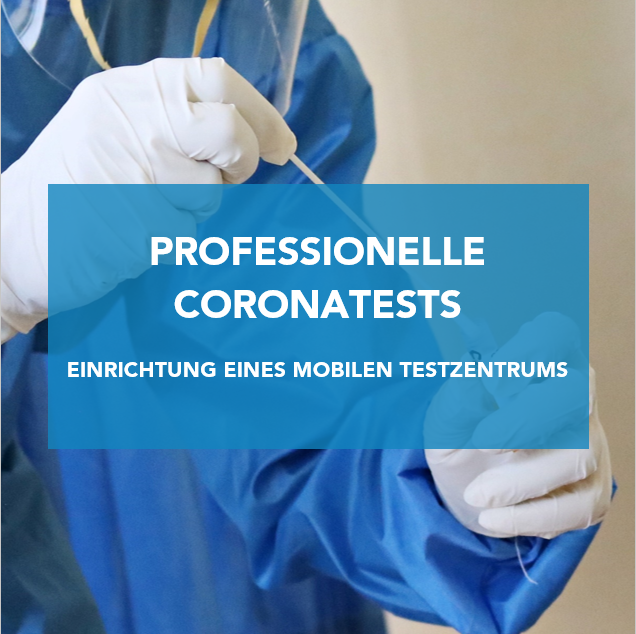 Professionelle Coronatests am St.-Ursula-Berufskolleg
